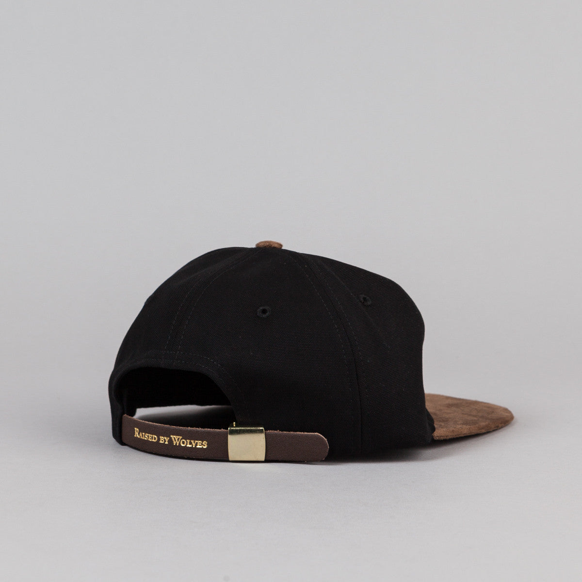 Raised By Wolves Geowulf Polo Cap - Mocha / Black