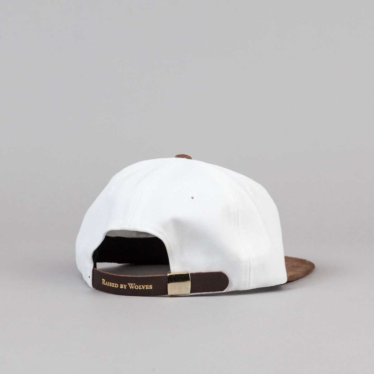 Raised By Wolves Geowulf Polo Cap - Mocha / White