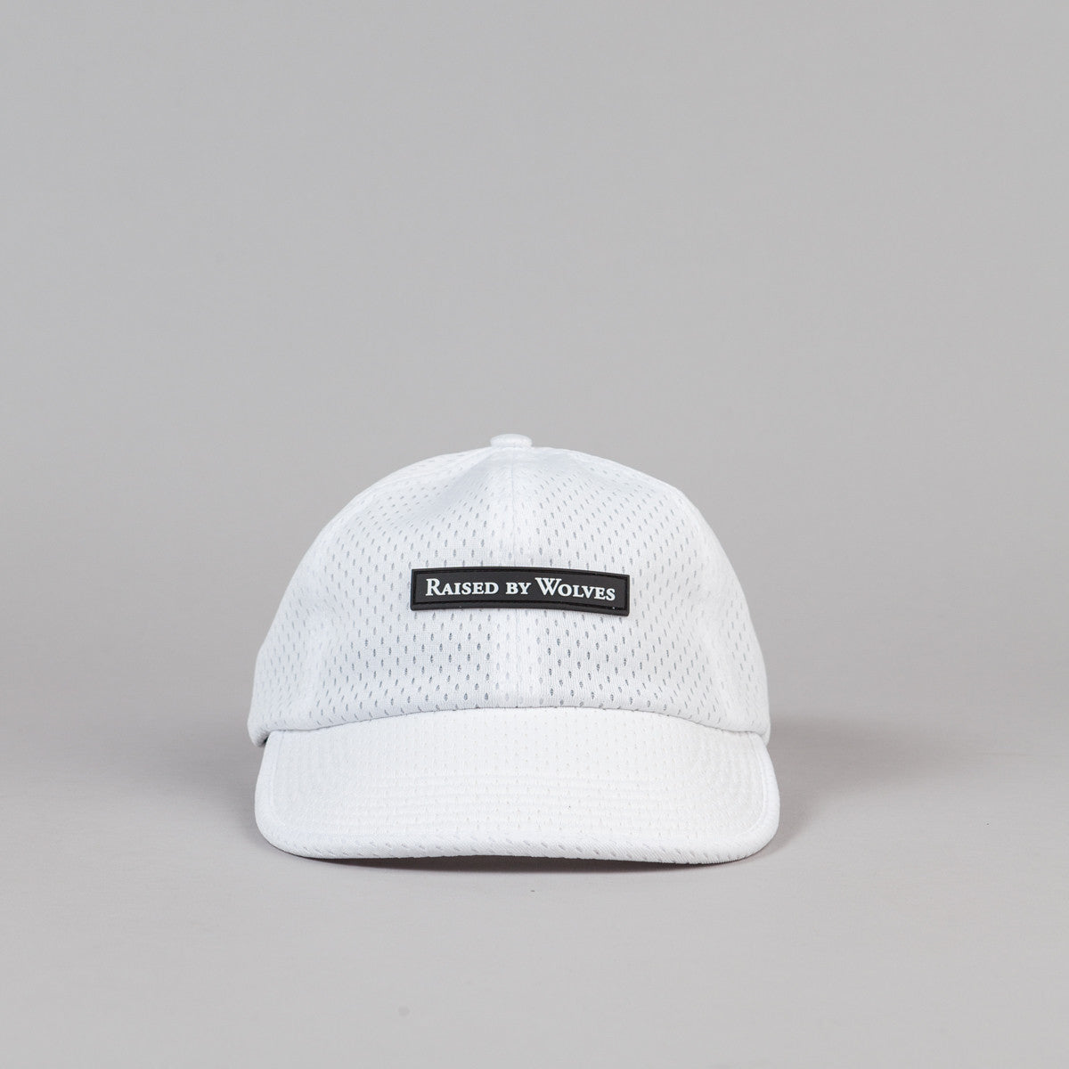 Raised By Wolves Napean Polo Cap - White
