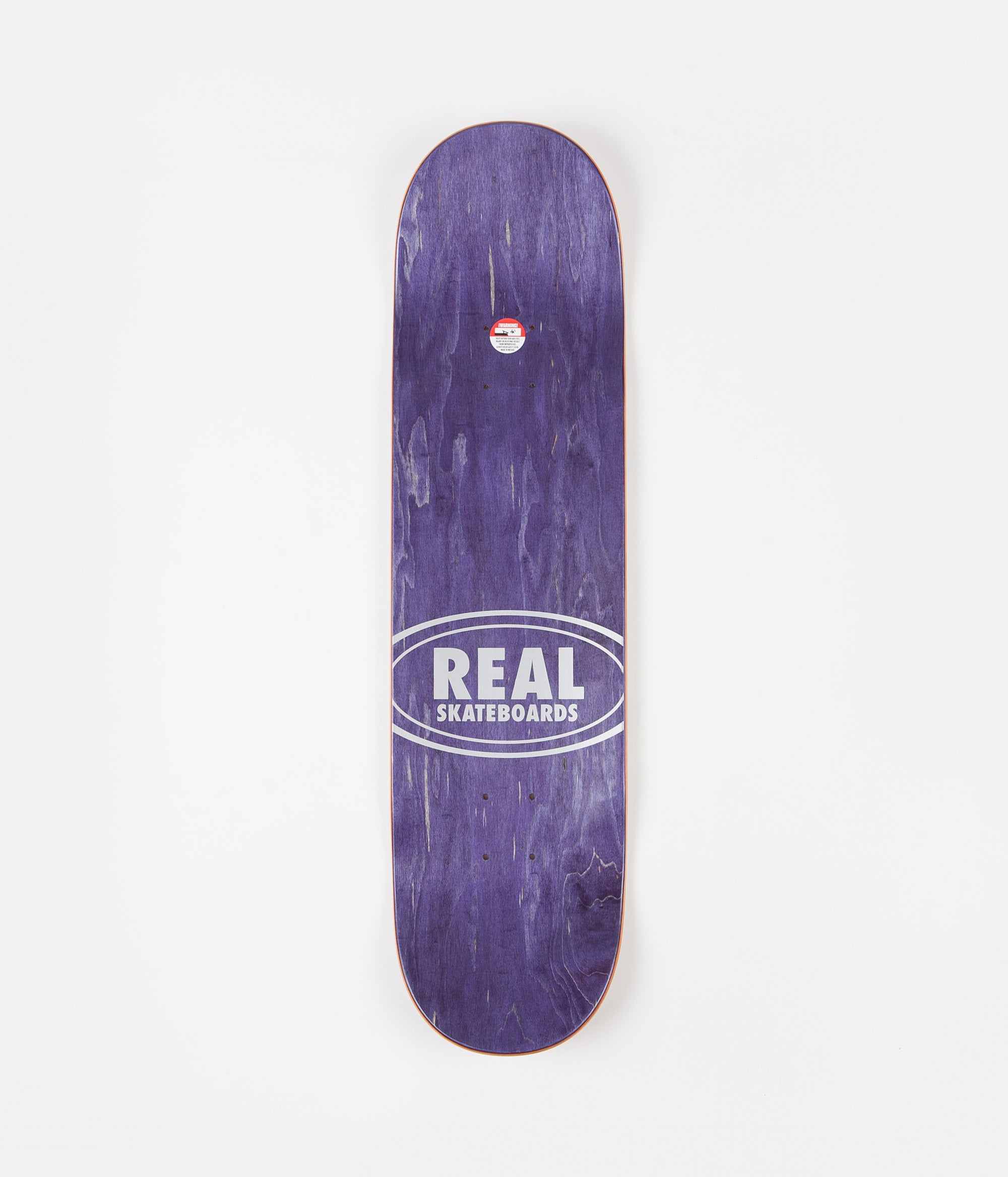 Real Ishod Blossom Oval Deck - Full White - 8.25""