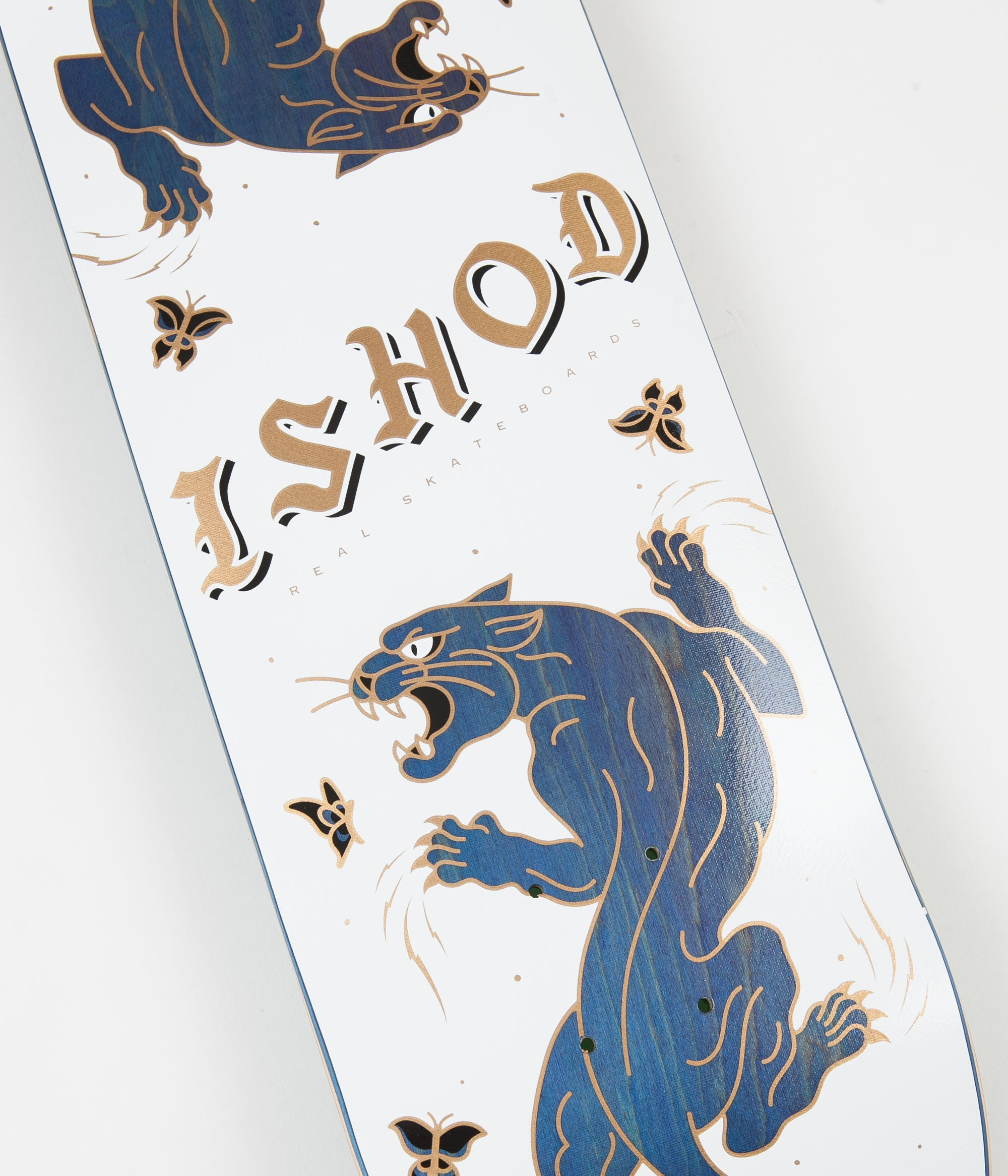 Real Ishod Cat Scratch TT Slick Deck - 8.3""