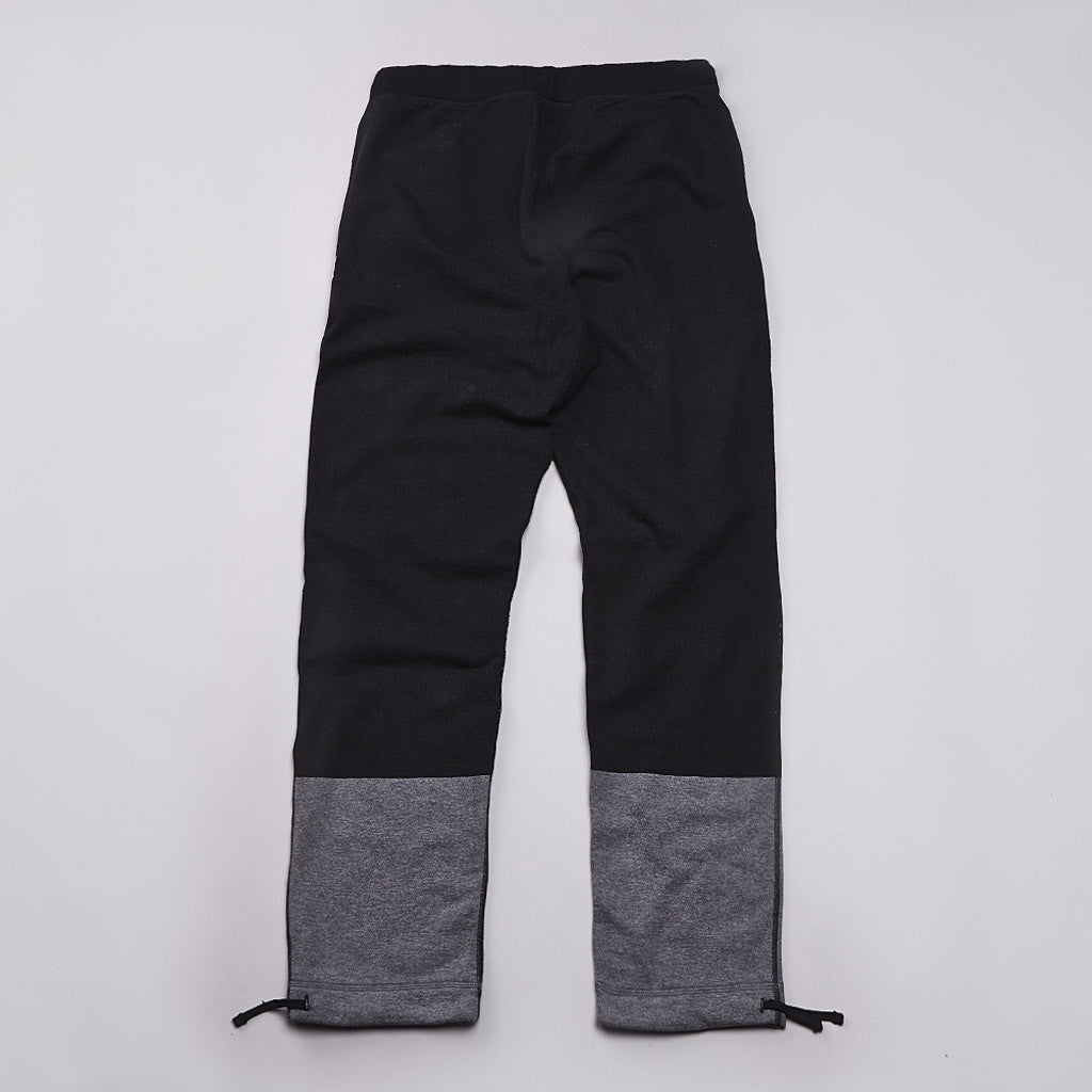 Reigning Champ Engineered Stripe Sweatpant Black / Heather Charcoal
