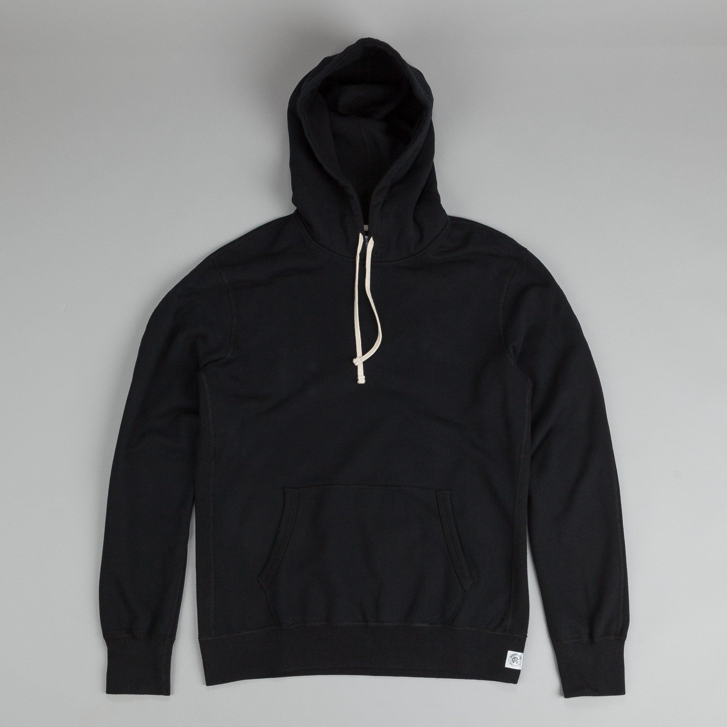 Reigning Champ Core Pullover Hooded Sweatshirt Black