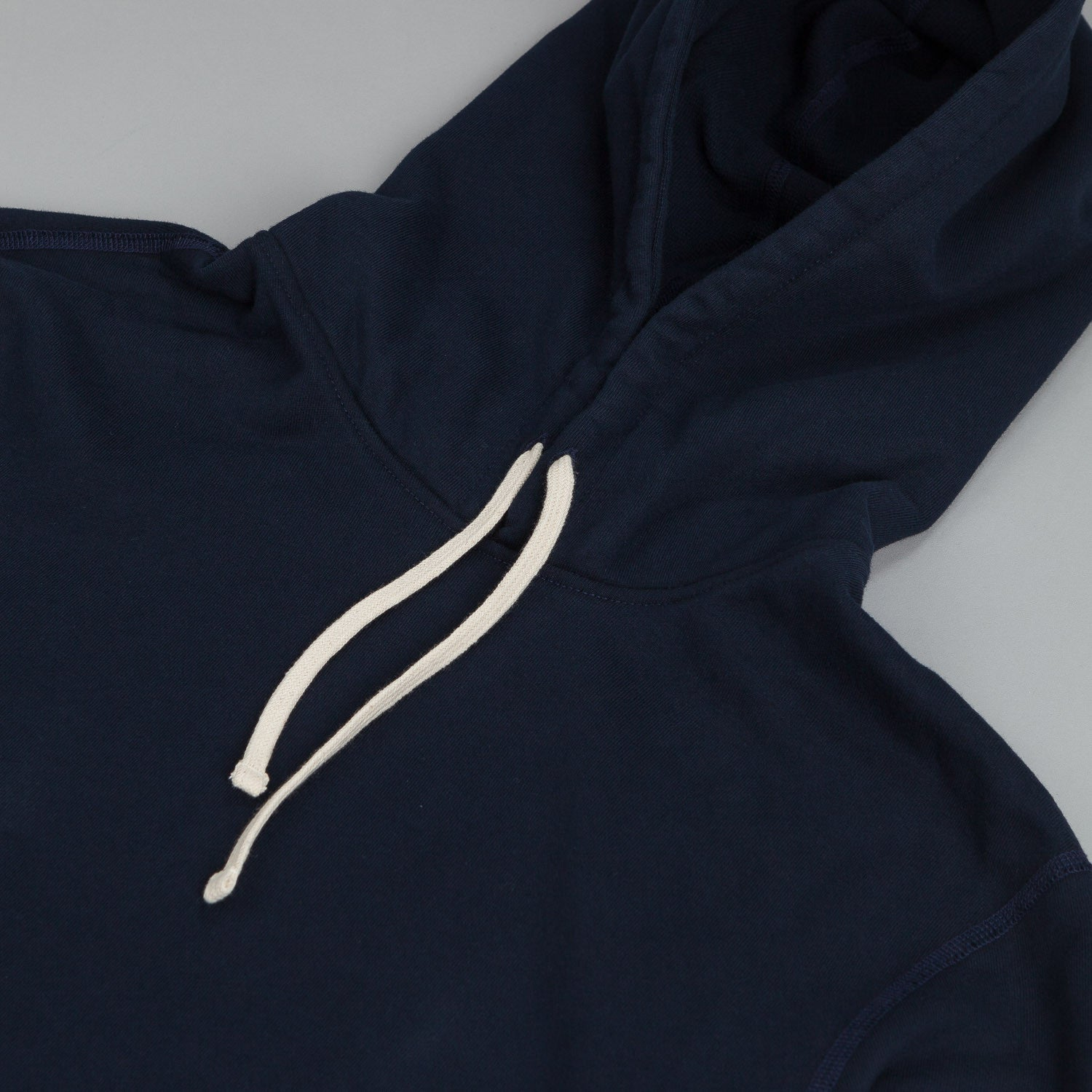 Reigning Champ Core Pullover Hooded Sweatshirt Navy