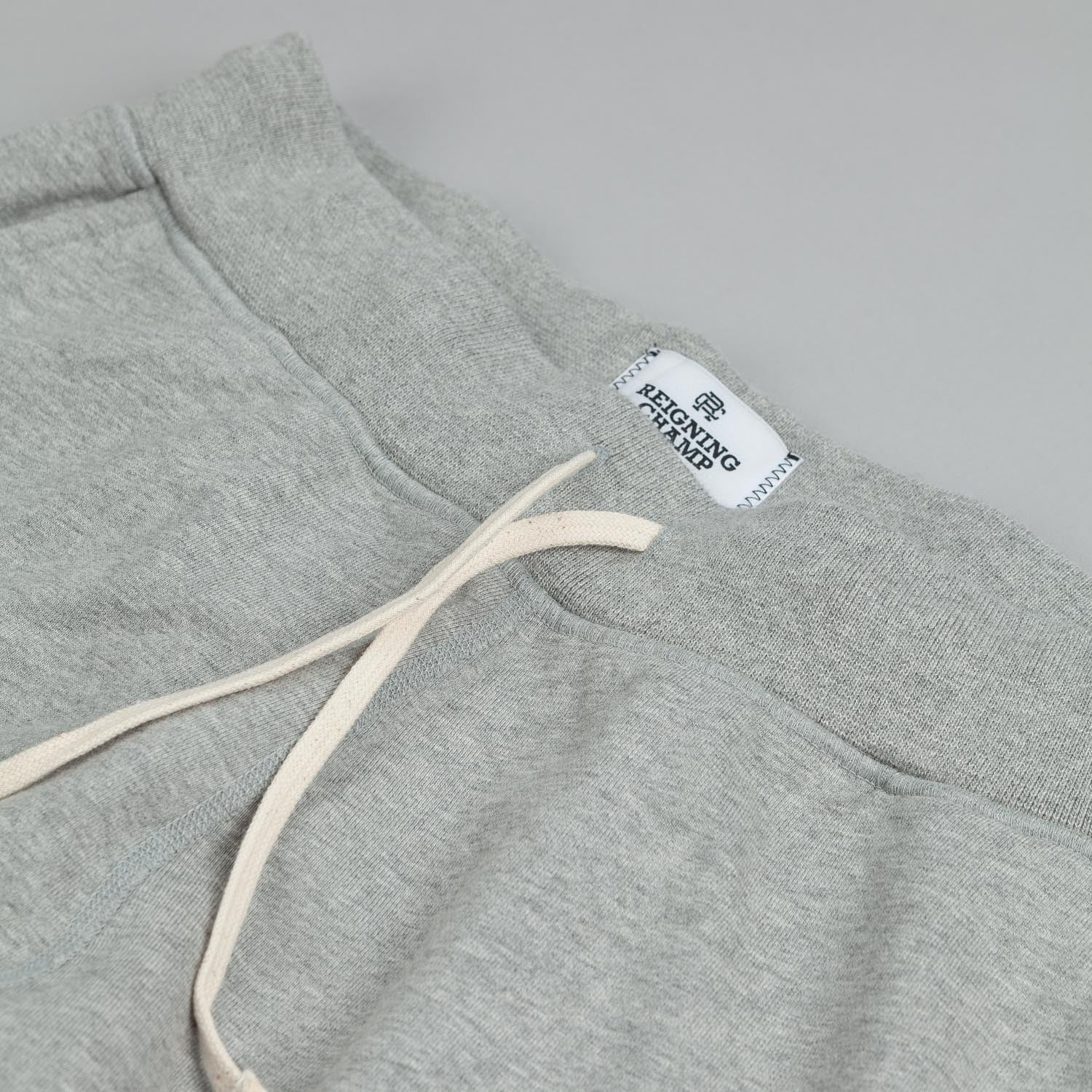Reigning Champ Core Sweatpant Heather Grey