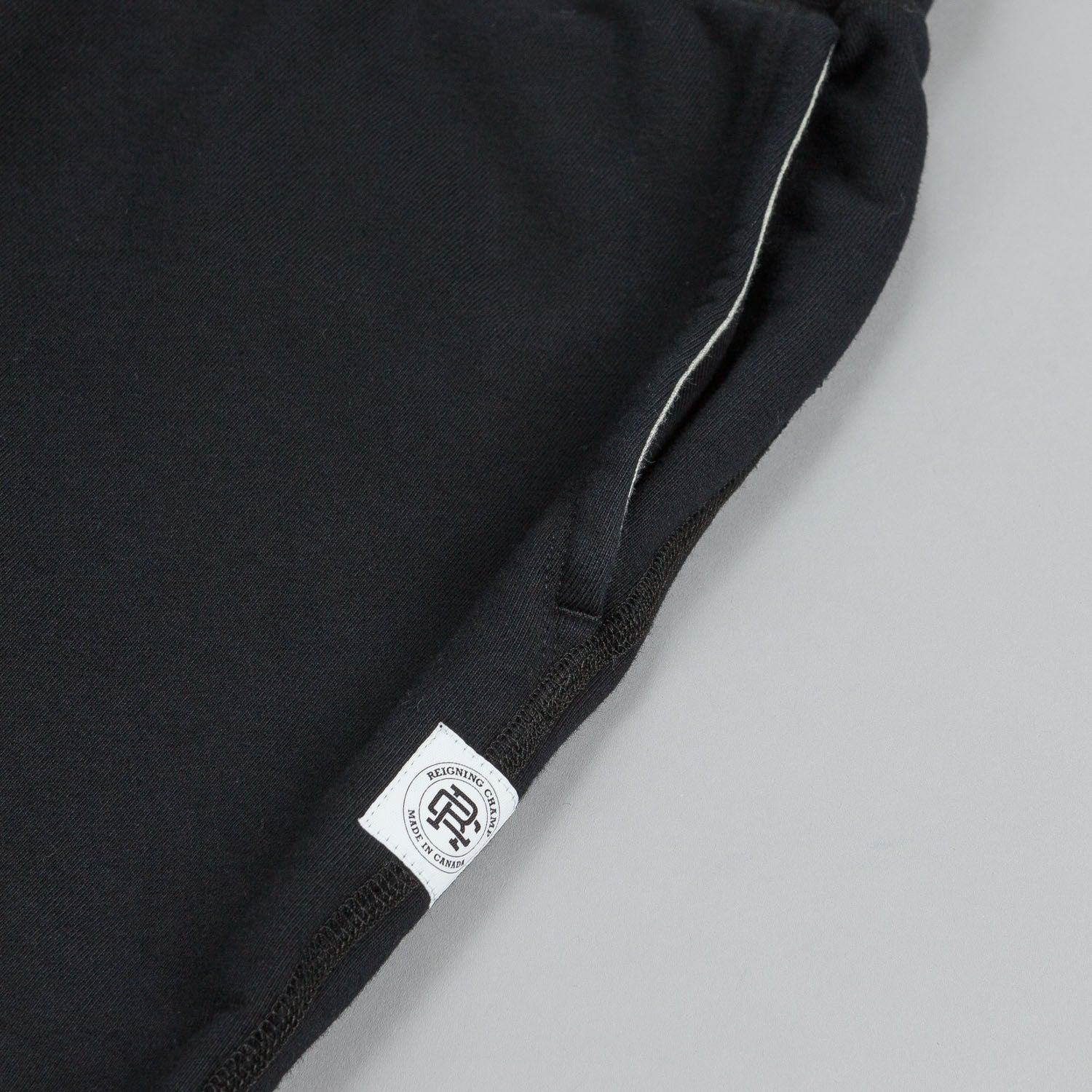 Reigning Champ Core Sweatshort Black