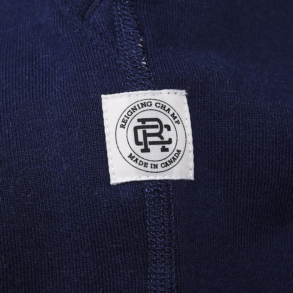 Reigning Champ Engineered Stripe Sweatpant Navy / Heather Charcoal