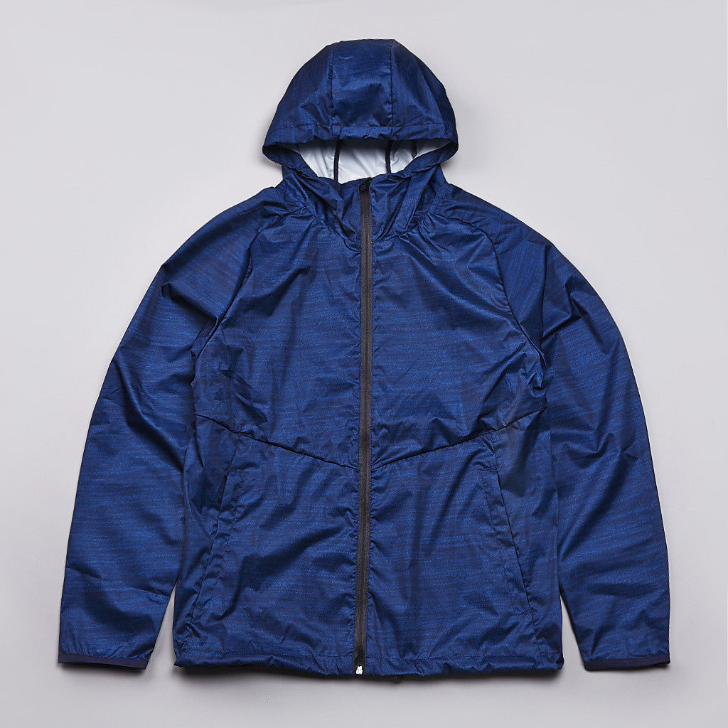 Reigning Champ Hooded Jacket Heather Navy