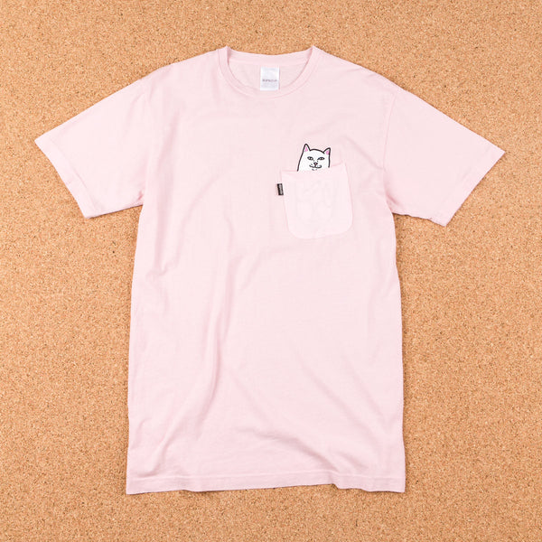 Rip N Dip Lord Nermal Pocket T-Shirt - Baby Pink