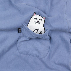 Rip N Dip Lord Nermal Pocket T-Shirt - Pigment Blue
