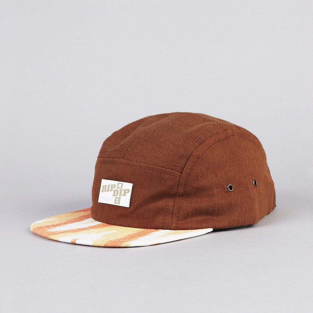 Rip N Dip Cappuccino 5 Panel Camp Cap