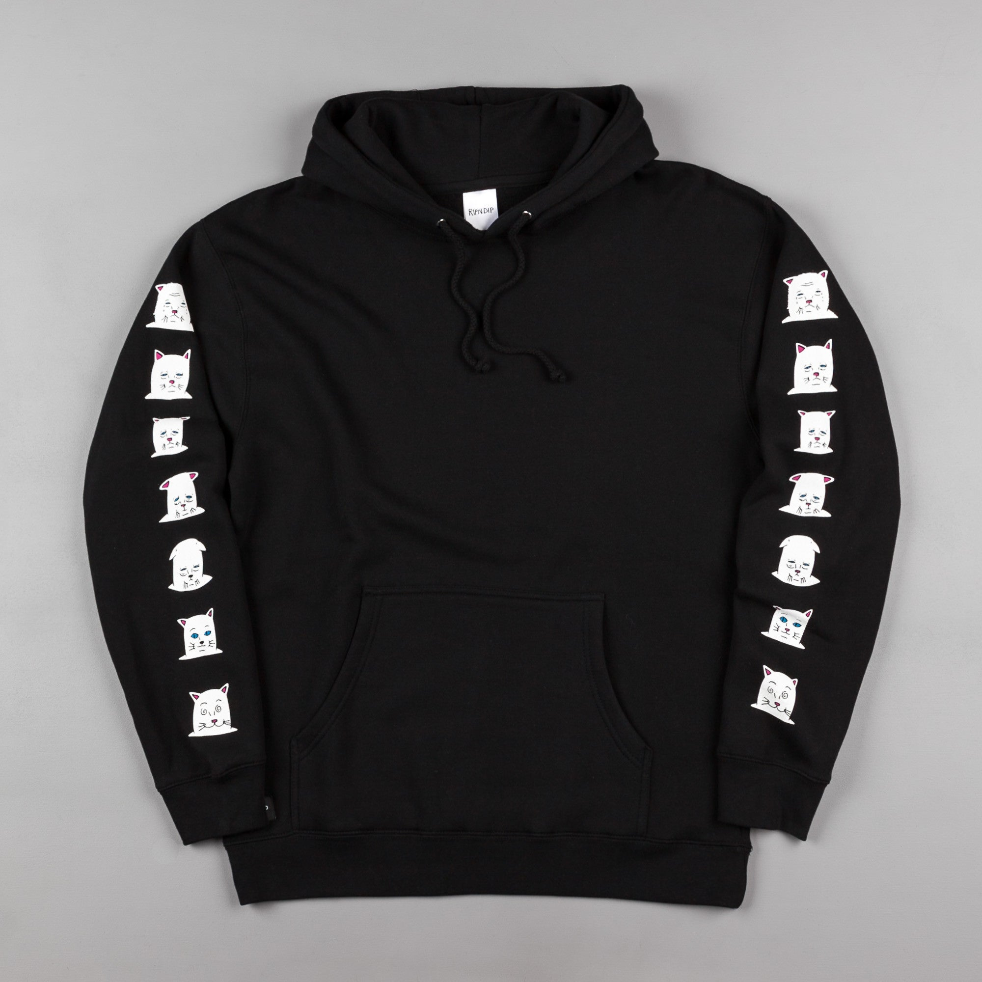 Rip N Dip Caturdays Hooded Sweatshirt - Black