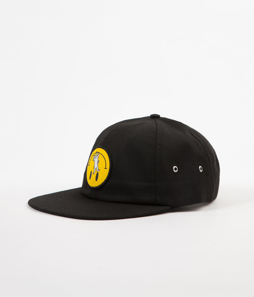 Rip N Dip Everything'll Be OK Six Panel Cap - Black