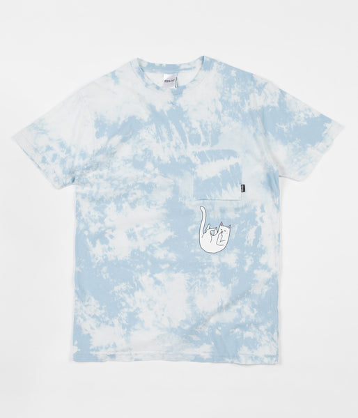 Rip N Dip Falling For Nermal Pocket T-Shirt - Sky
