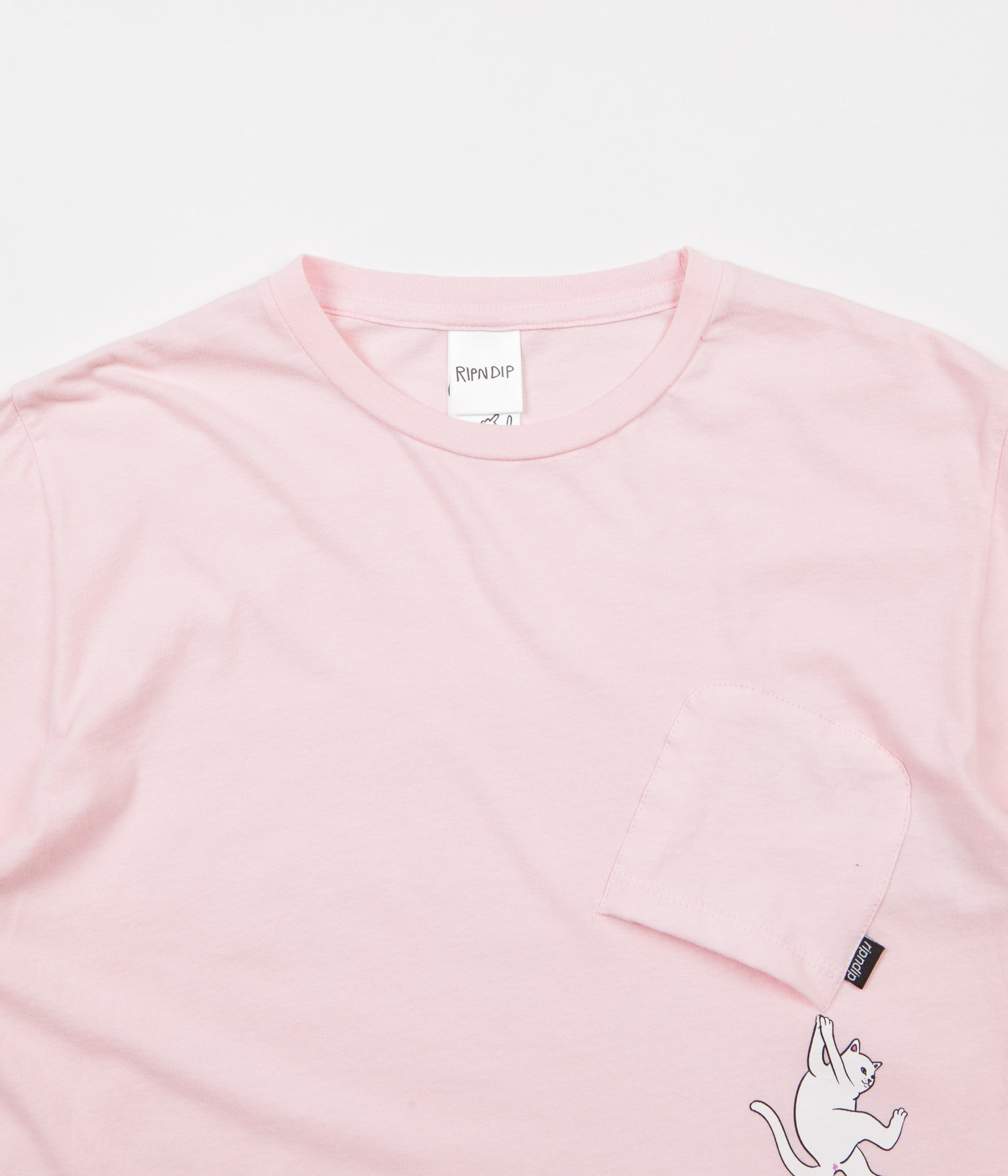 Rip N Dip Hang In There Nermal T-Shirt - Pink
