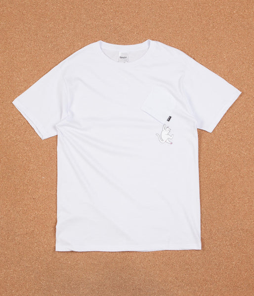 Rip N Dip Hang In There Nermal T-Shirt - White
