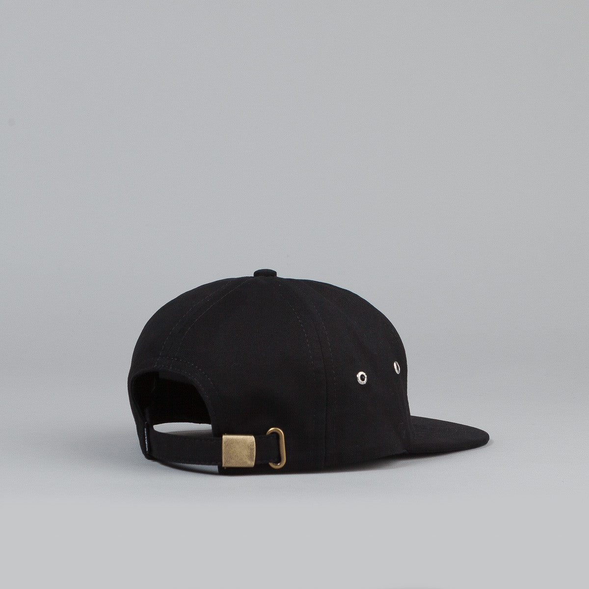 Rip N Dip Japanese Cream 5 Panel Cap - Black