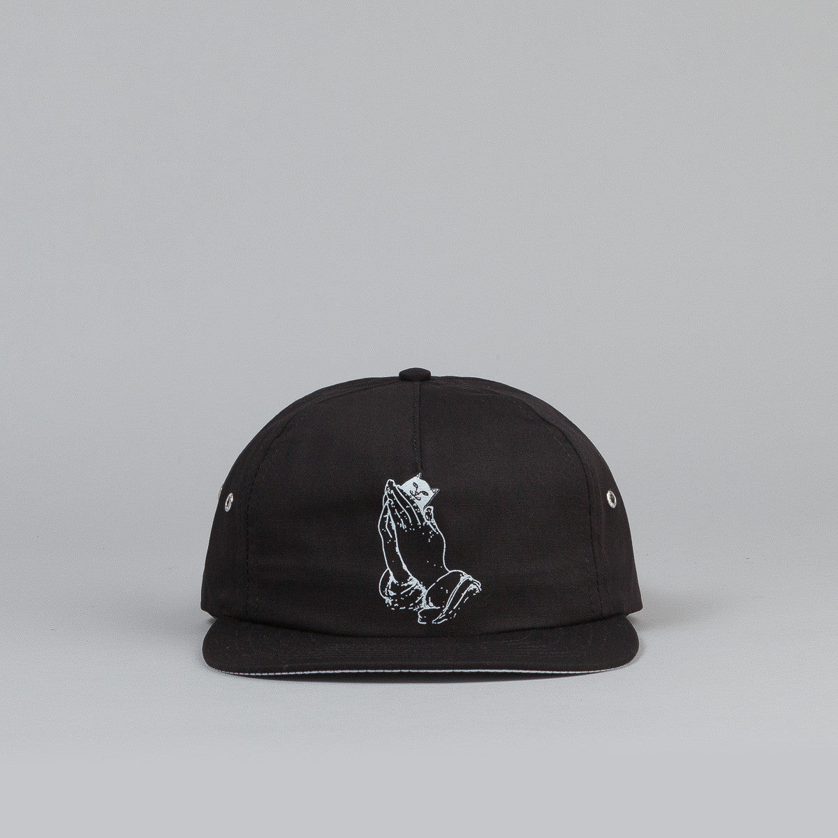 Rip N Dip Lord Nermal 5 Panel Cap- Black