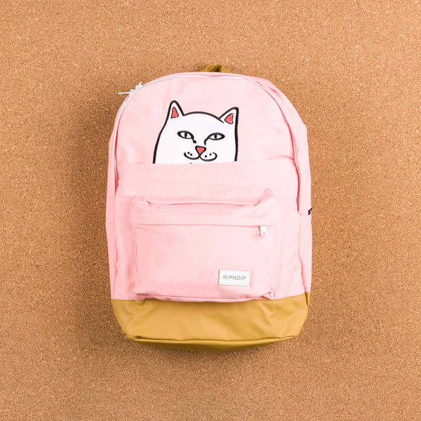 Rip N Dip Lord Nermal Backpack - Pink