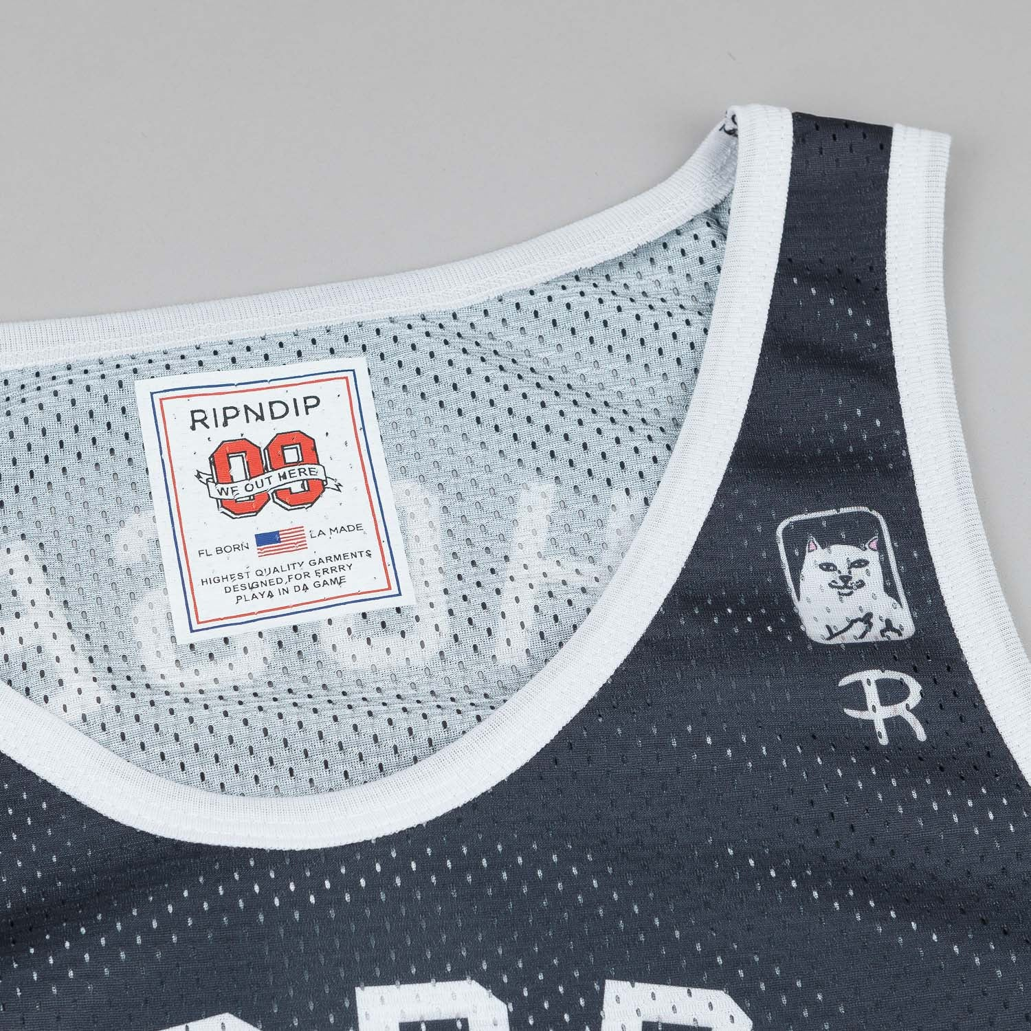 Rip N Dip Lord Nermal Basketball Vest - Black