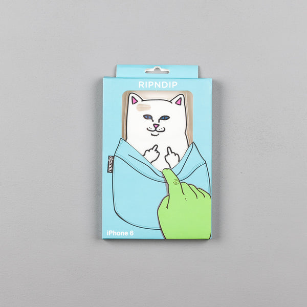 Rip N Dip Lord Nermal iPhone 6 Case - White