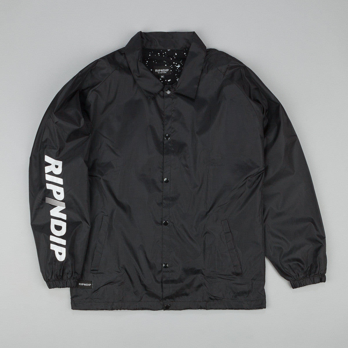 Rip N Dip Lunar Coach Jacket - Black