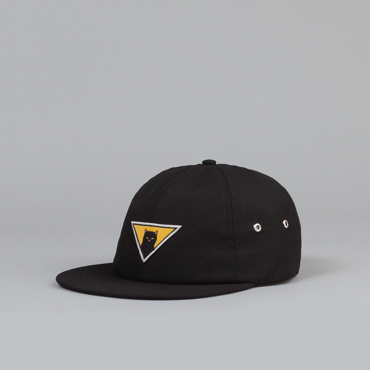 Rip N Dip Neighbourhood Watch 6 Panel Cap- Black