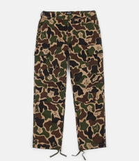 Rip N Dip Nermal Camo Cargo Trousers - Army Camo