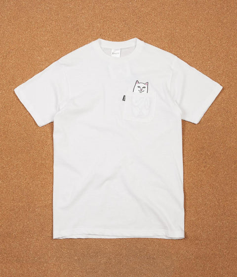 Rip N Dip Lord Nermal Pocket T-Shirt - White