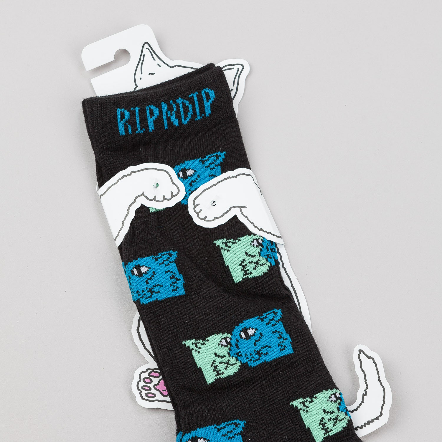 Rip N Dip Nermal Party Socks - Black