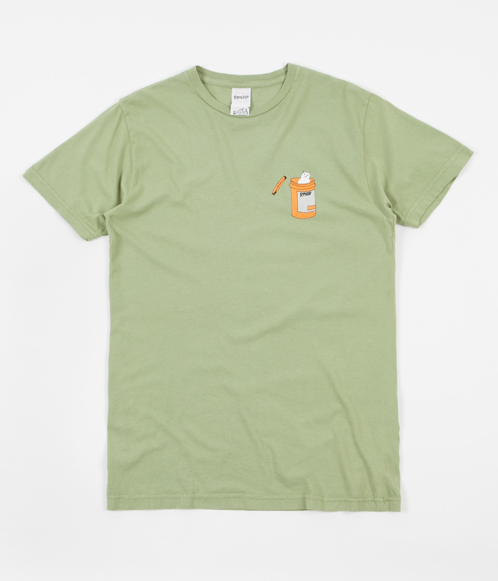 Rip N Dip Nermal Pills T-Shirt - Vintage Green