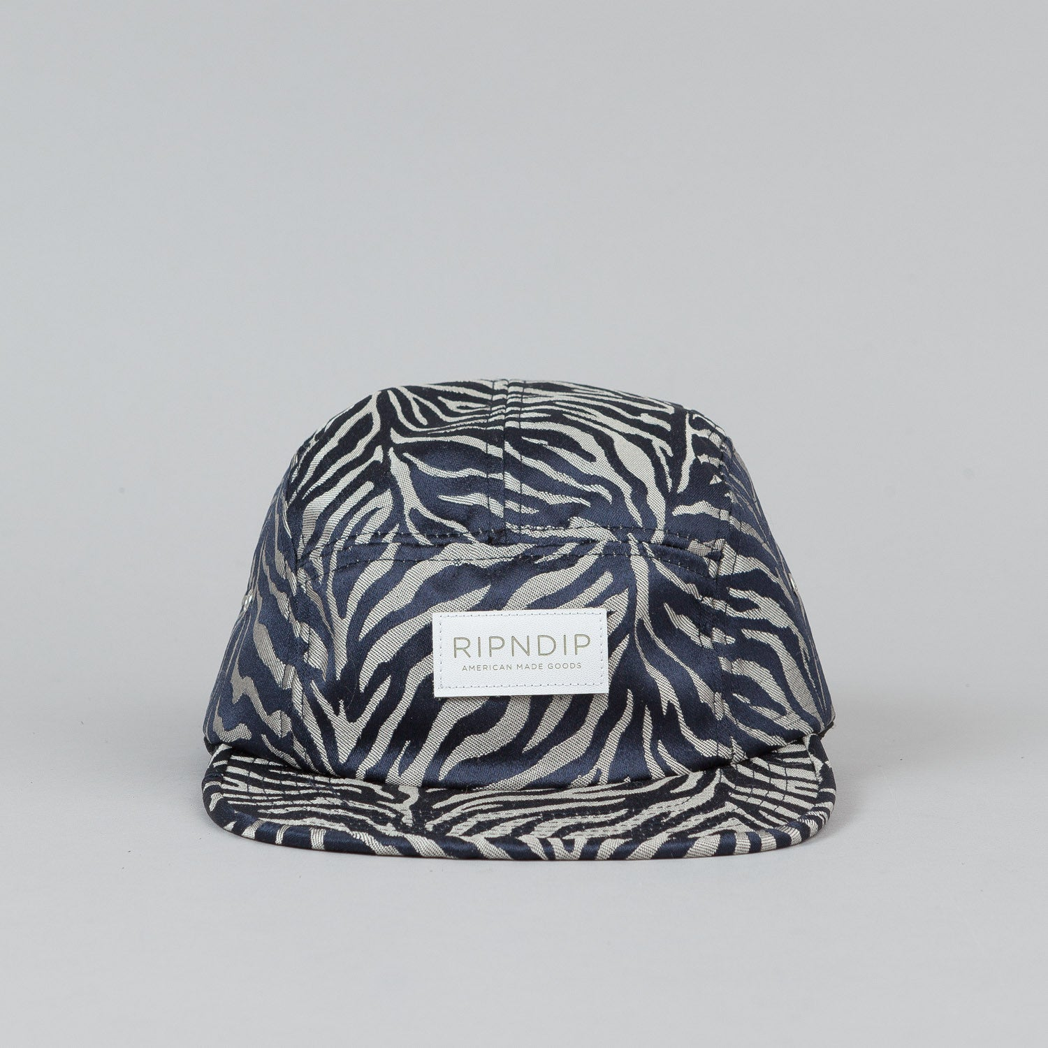 Rip N Dip Safari 5 Panel Camp Cap Cobalt