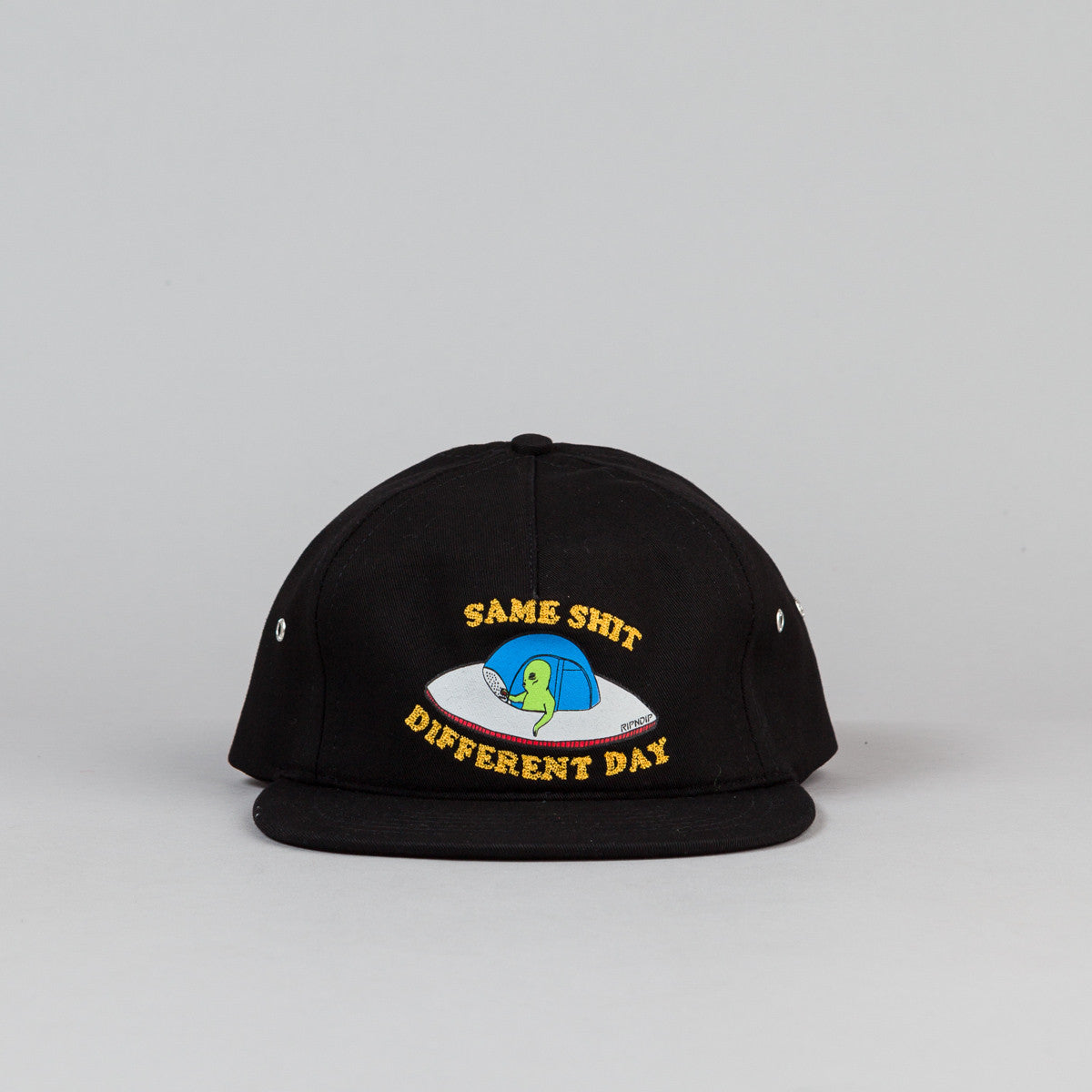 Rip N Dip Same Shit 5 Panel Cap - Black