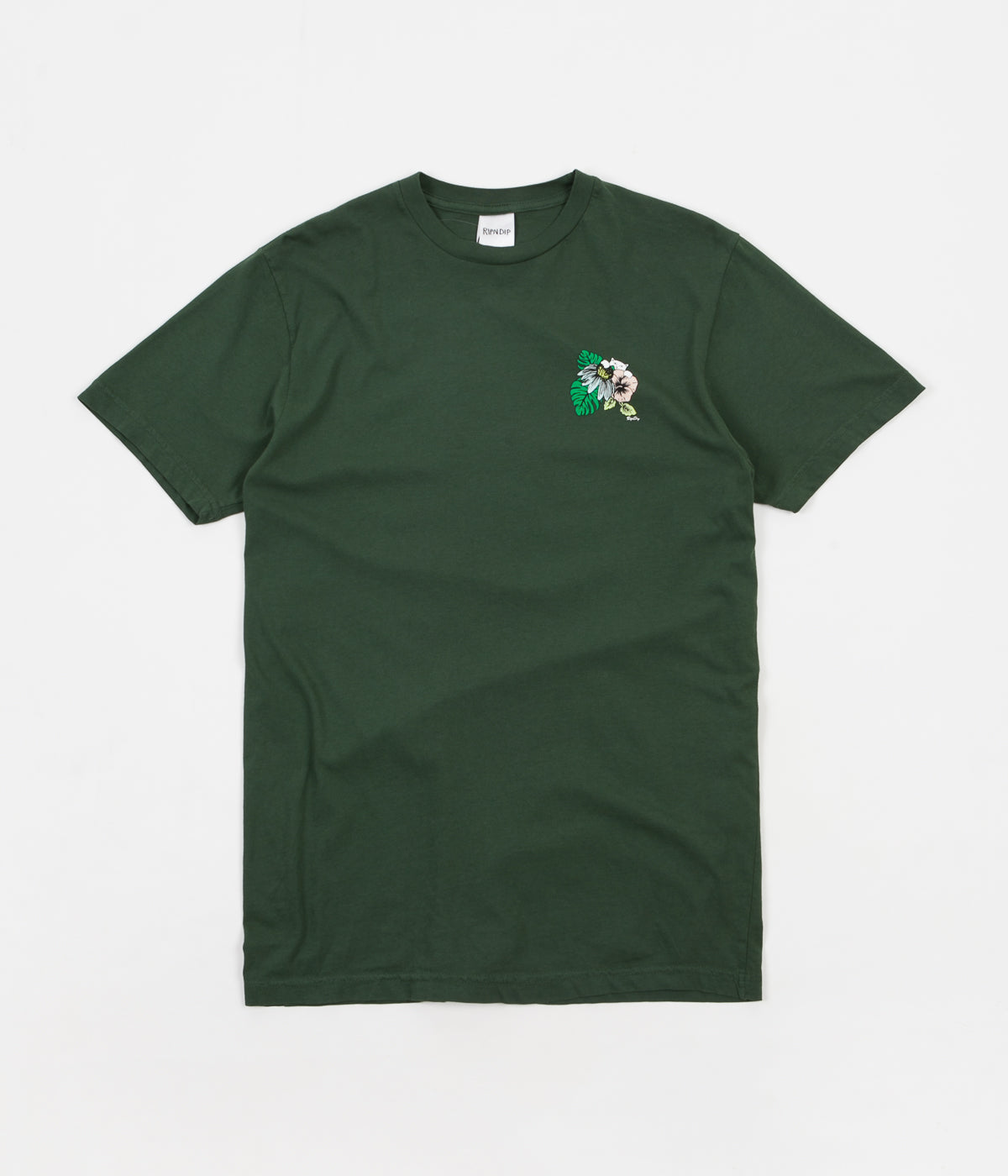 Rip N Dip Tropicalia T-Shirt - Hunter Green