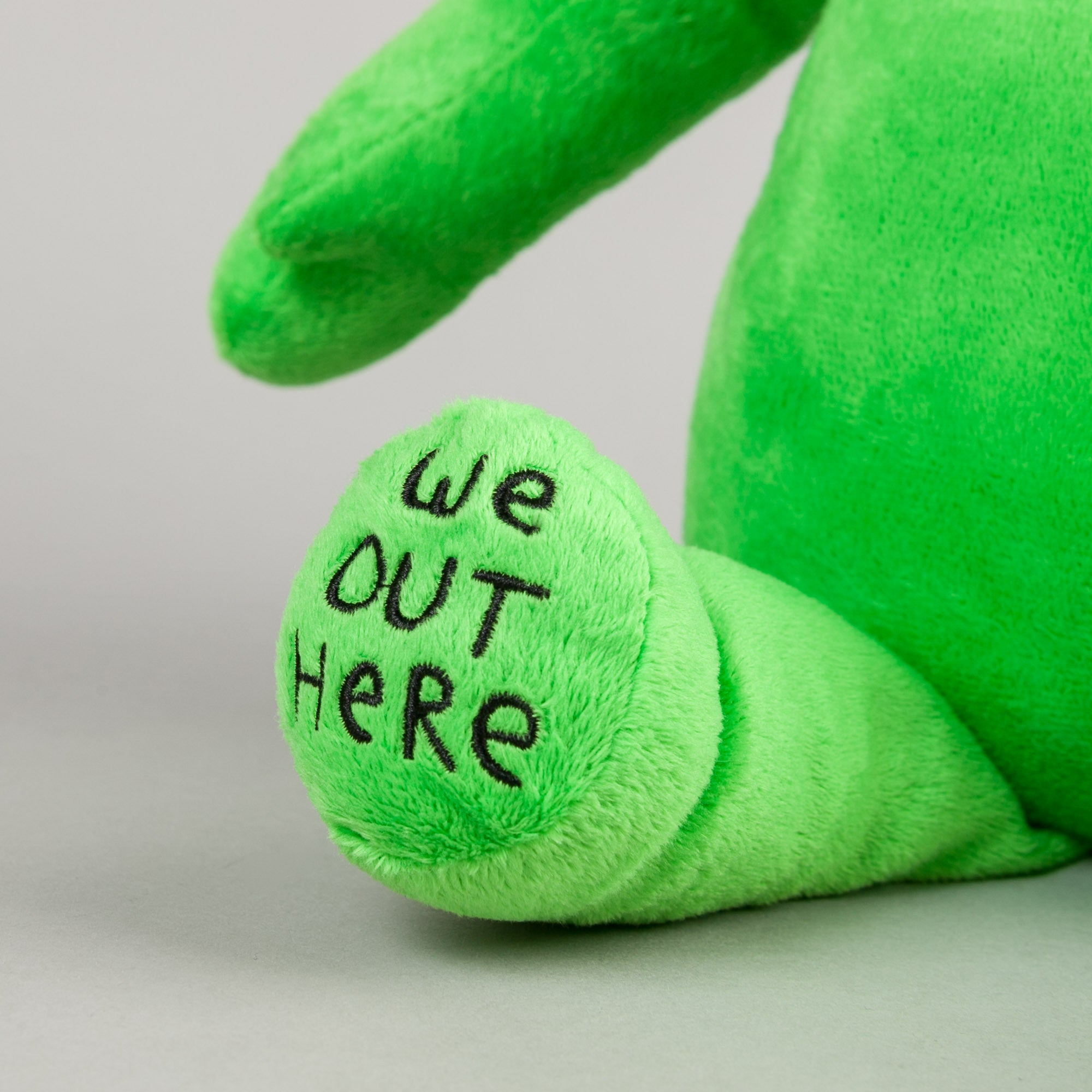 Rip N Dip We Out Here Plush Toy - Green