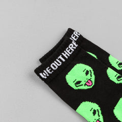 Rip N Dip We Out Here Socks - Black