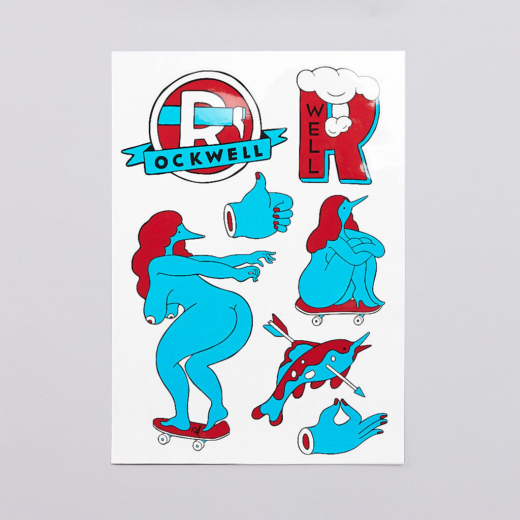 Rockwell A4 Sticker Set