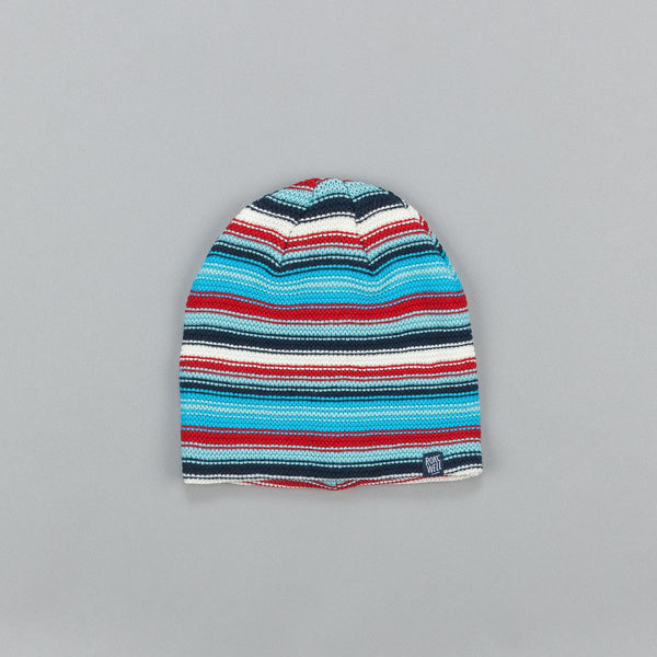 Rockwell Misspelled Logo Beanie Red / Blue / White