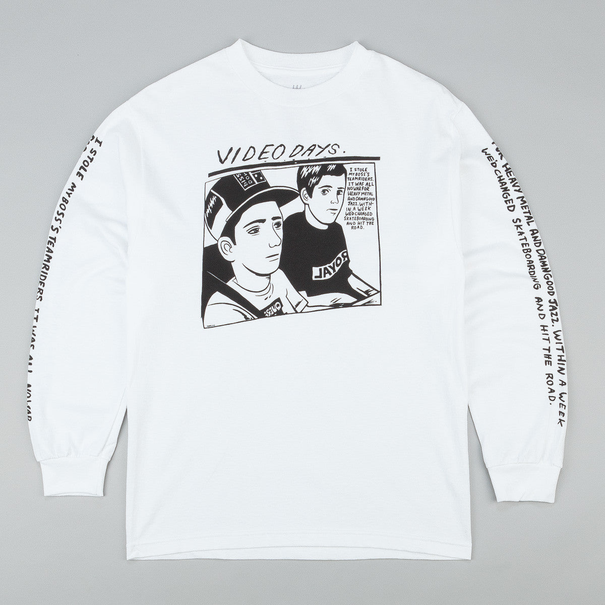 Royal Video Days Long Sleeve T-Shirt