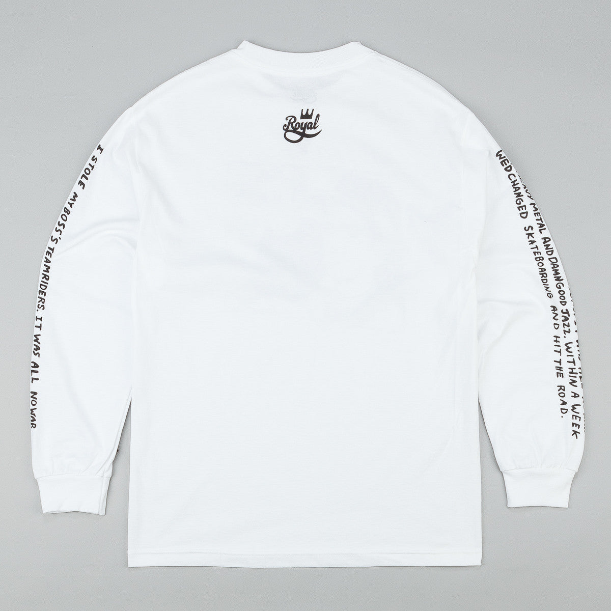 Royal Video Days Long Sleeve T-Shirt - White
