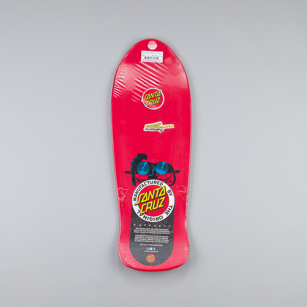 Santa Cruz Natas Kaupas Panther Deck Red