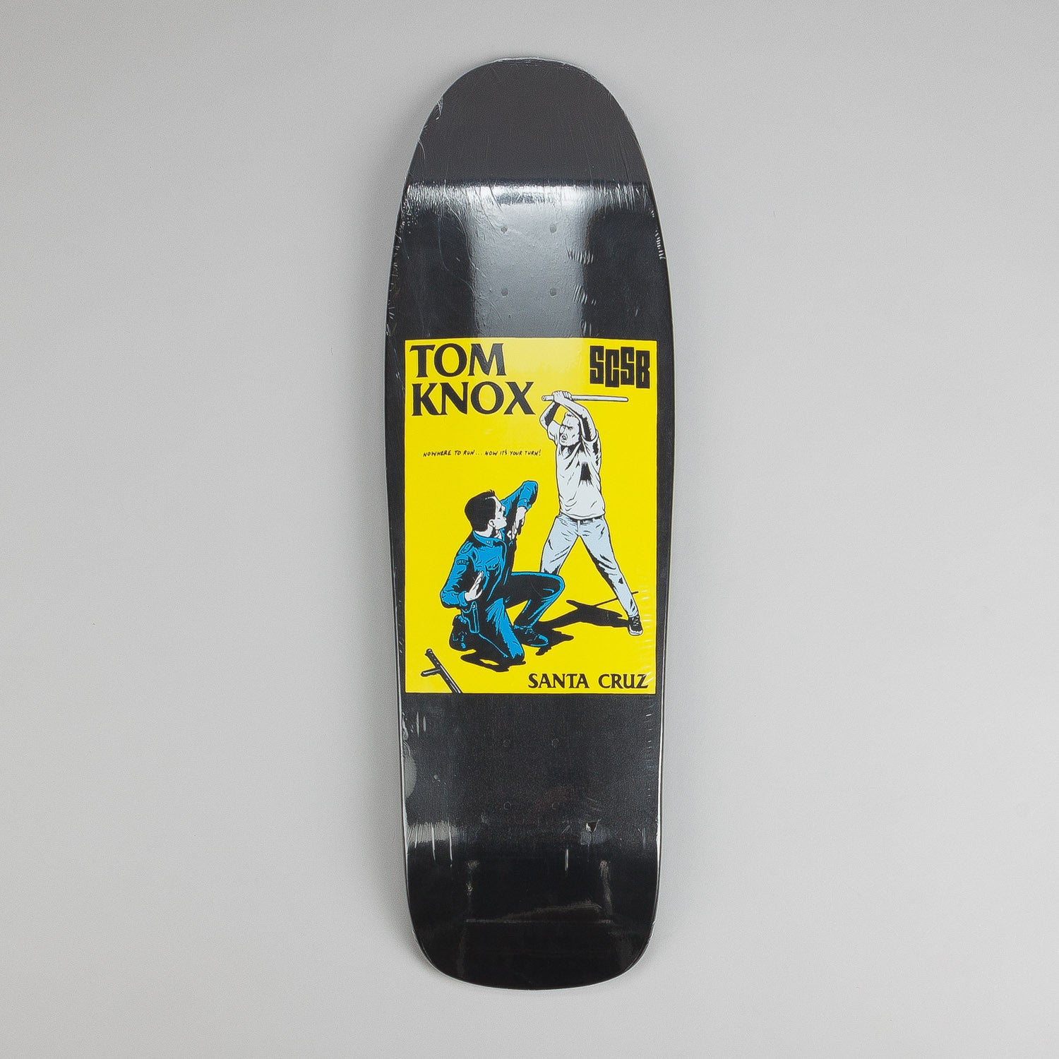 Santa Cruz Tom Knox Cop Beater Deck 9.75""