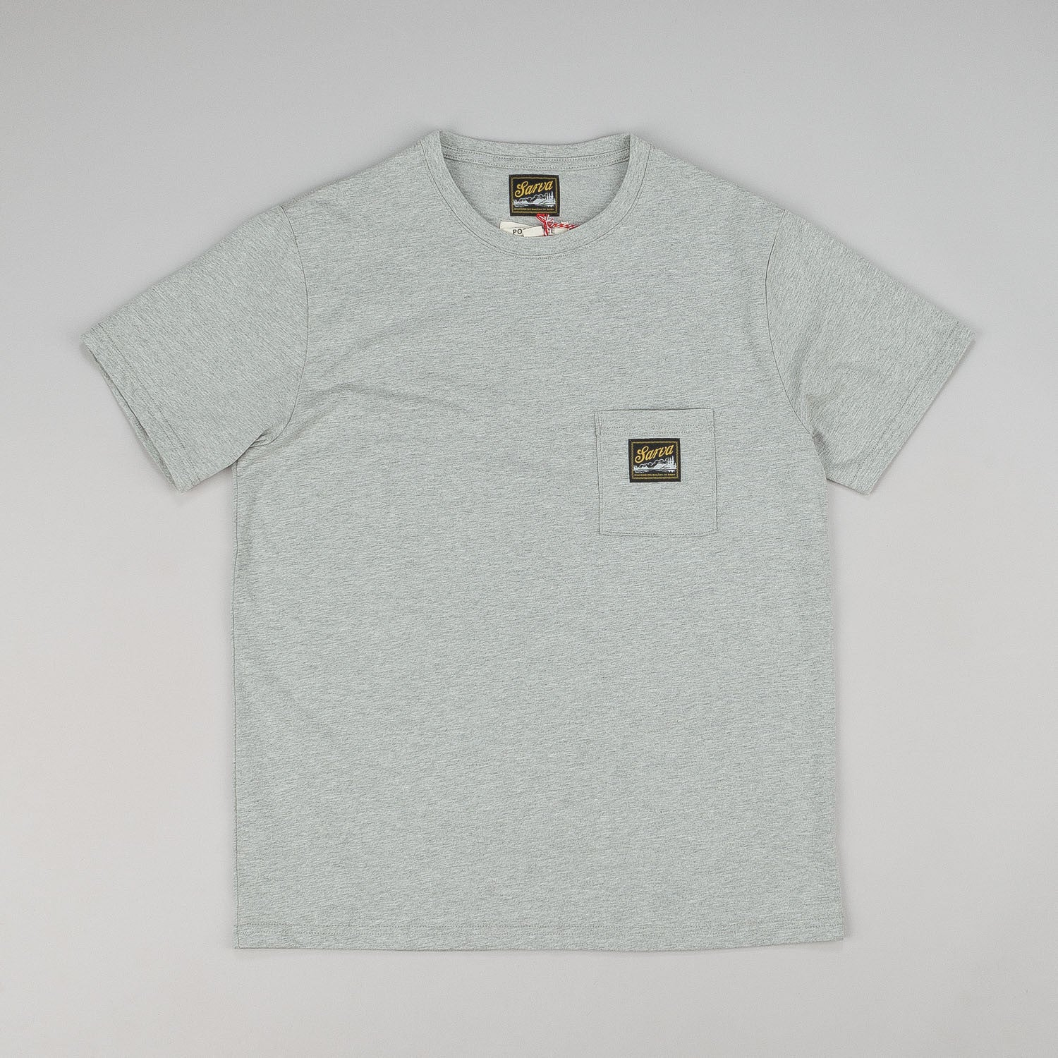 Sarva Pocket T-Shirt - Grey