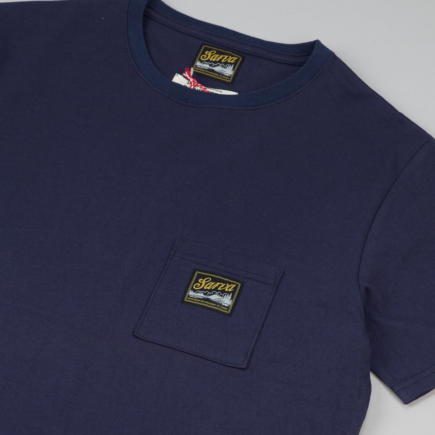 Sarva Pocket T-Shirt - Navy