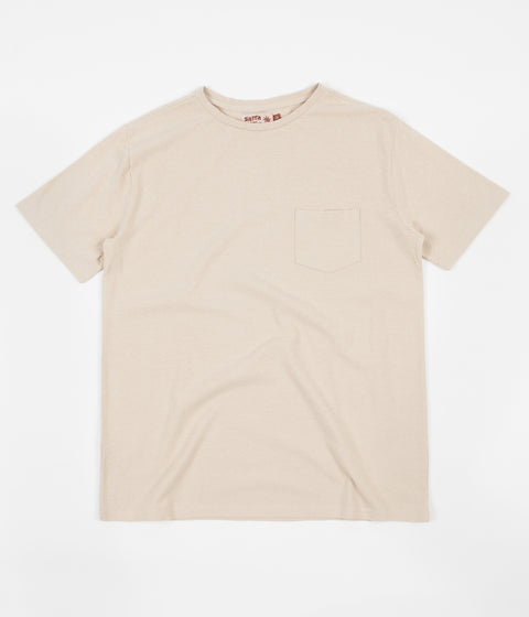 Satta Basic Hemp Pocket T-Shirt - Calico
