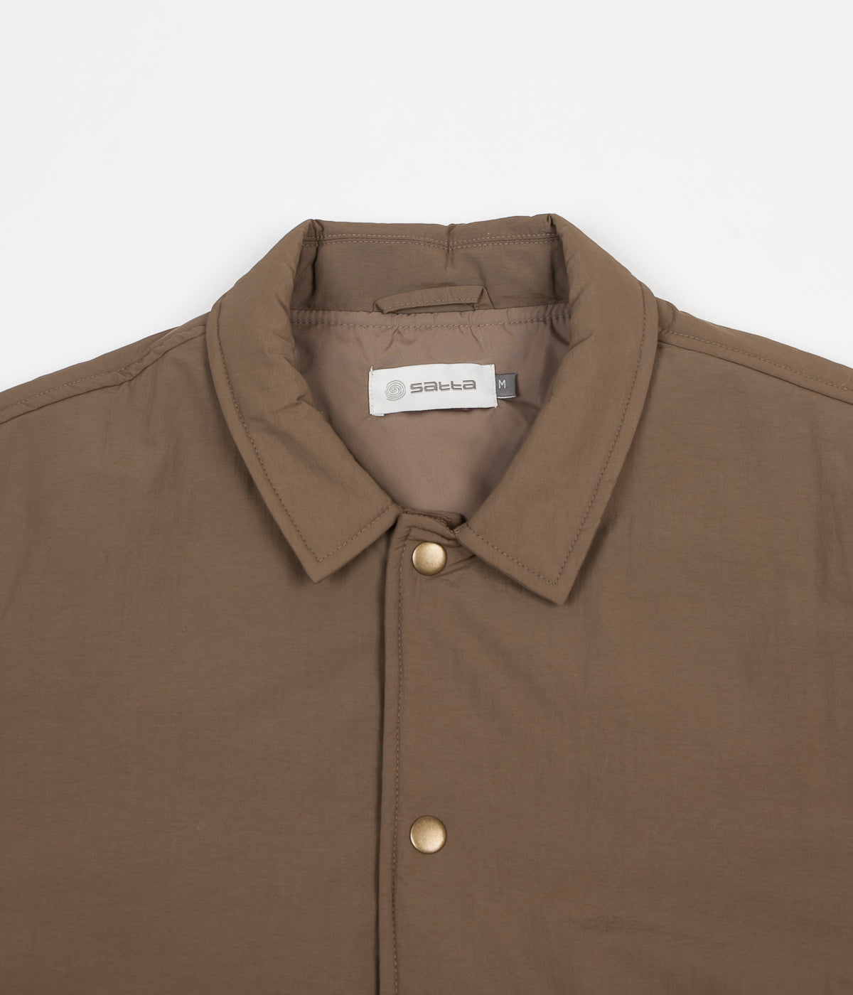 Satta Insulated Grounds Jacket - Dusty Brown