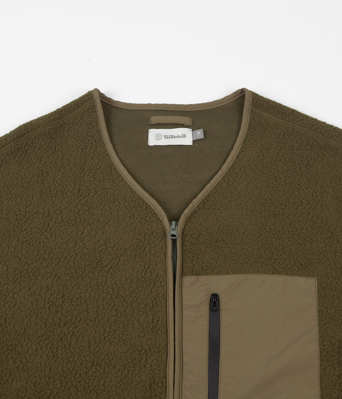 Satta Mikah Fleece Jacket - Moss