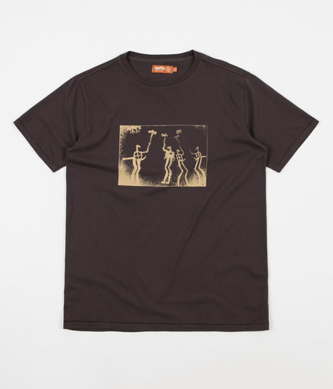 Satta Tanum T-Shirt - Washed Black