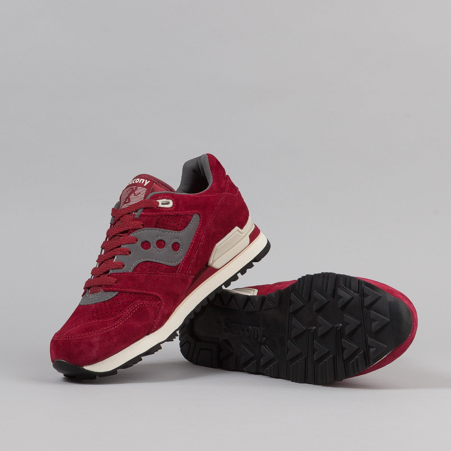 Saucony Courageous Shoes 'Mighty Brave' - Red