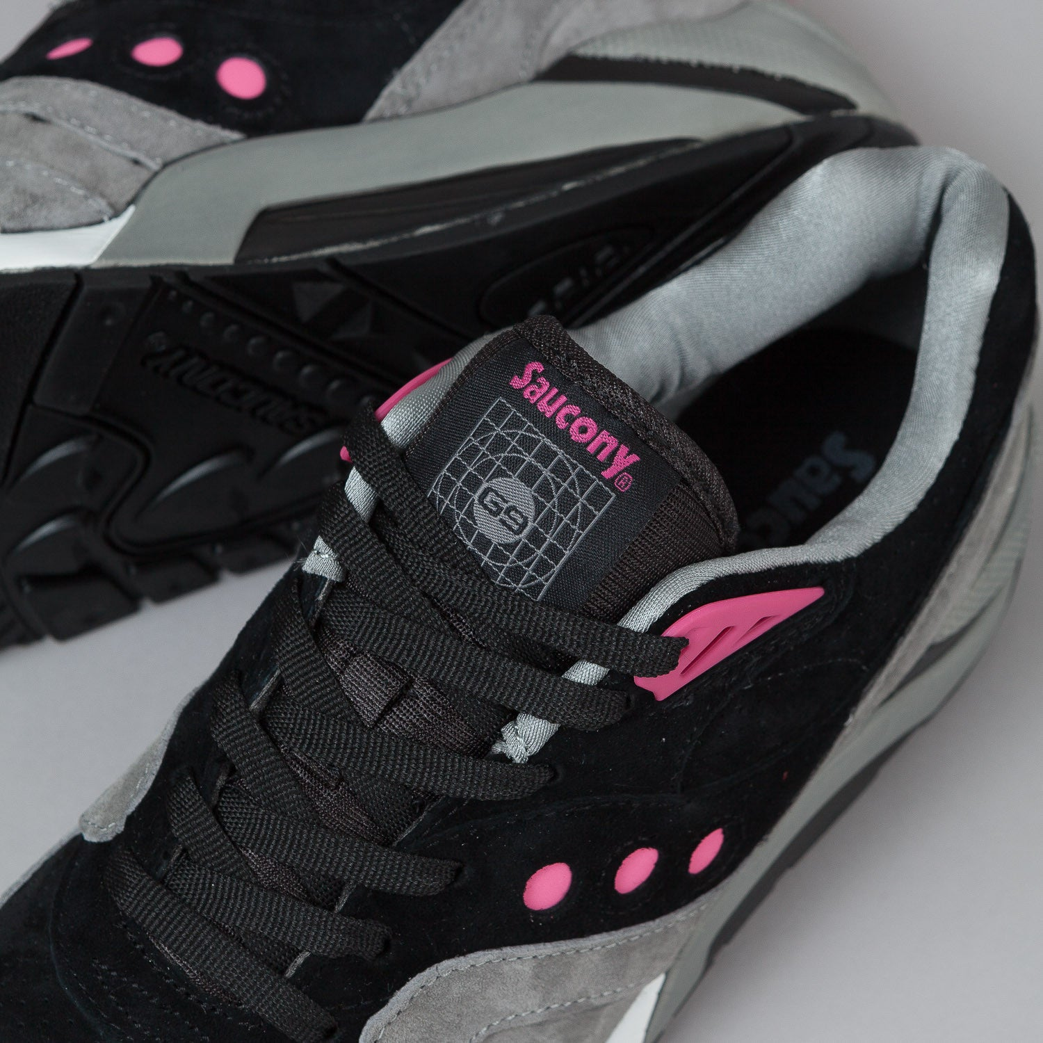 Saucony G9 Control Shoes - Black / Grey